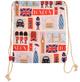London Icons Drawstring Bag